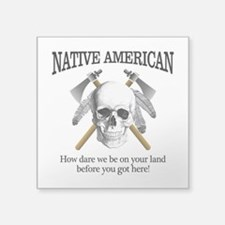 Native American (skull) Sticker