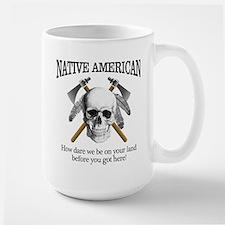 Native American (skull) Mugs