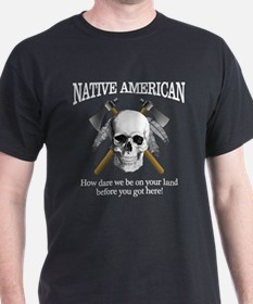 Native American (skull) T-Shirt