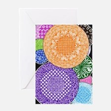 Round and Round Greeting Card