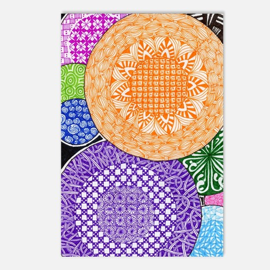 Round and Round Postcards (Package of 8)