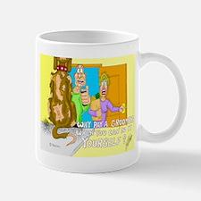Why pay a Groomer? Mug