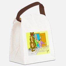 Why pay a Groomer? Canvas Lunch Bag