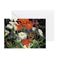 Thomson - Marguerites, Wood Lilies a Greeting Card