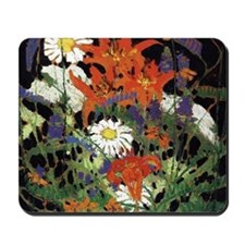 Thomson - Marguerites, Wood Lilies and V Mousepad