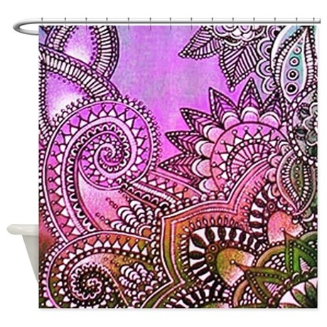 Paisley 1 Shower Curtain