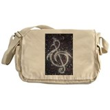 Abstract Canvas Messenger Bags