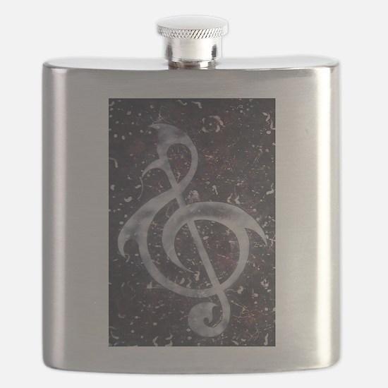 Cute Punk rock Flask