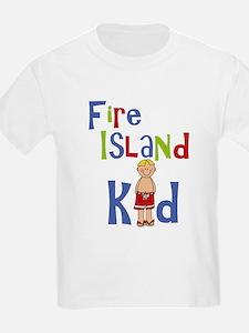 Fire Island Kid Boys T-Shirt