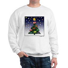 SCOTTIE CHRISTMAS TREE Sweatshirt