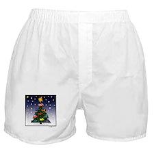 SCOTTIE CHRISTMAS TREE Boxer Shorts
