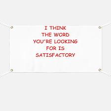 satisfactory Banner