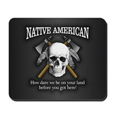 Native American (skull) Mousepad