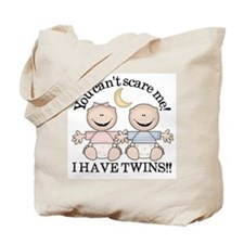 Cute Siblings Tote Bag
