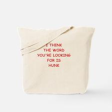 hunk Tote Bag