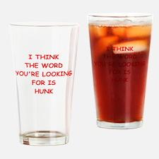hunk Drinking Glass