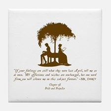 Mr Darcys Love Tile Coaster
