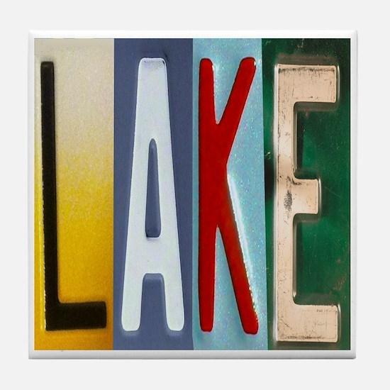 Lake Tile Coaster