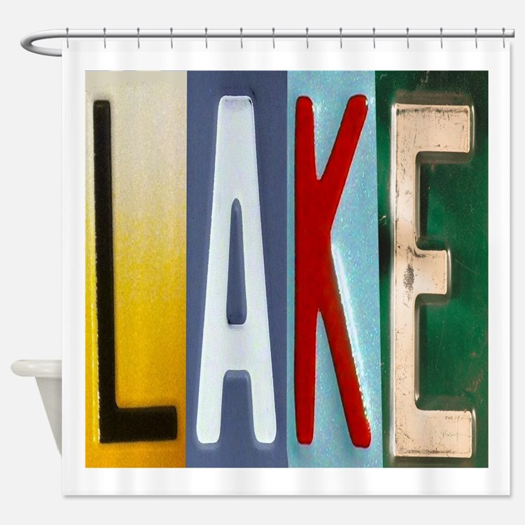 Lake Shower Curtains