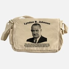 LBJ: Vote Messenger Bag