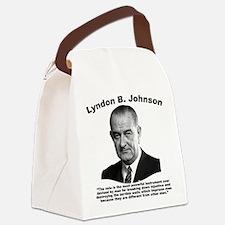 LBJ: Vote Canvas Lunch Bag