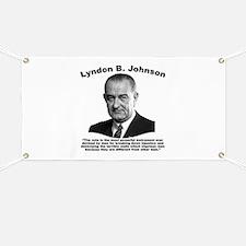 LBJ: Vote Banner