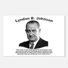 LBJ: Vote Postcards (Package of 8)