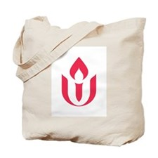 UU red flame logo Tote Bag