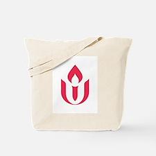 UU red flame logo Tote Bag