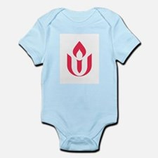 UU red flame logo Body Suit