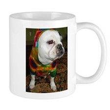 French Bulldog Pied Mugs