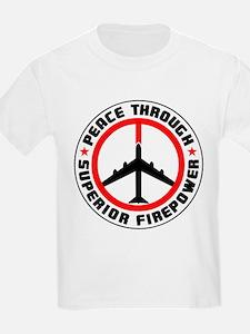 Peace Through Superior Firepower II T-Shirt