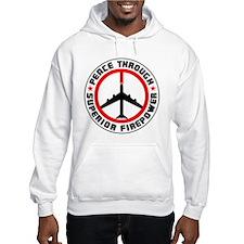Peace Through Superior Firepower II Jumper Hoody