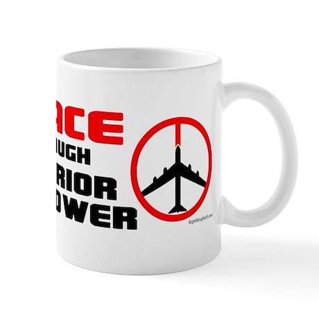 Peace Through Superior Firepower II Mug