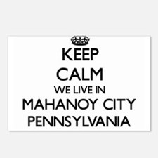 Keep calm we live in Maha Postcards (Package of 8)