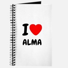 I heart Alma Journal