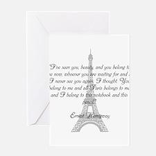 Paris Belongs to Me Greeting Cards