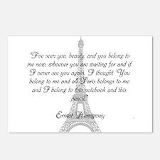 Paris Belongs to Me Postcards (Package of 8)
