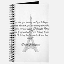 Paris Belongs to Me Journal