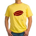 Teamwork Makes the Dreamwork Yellow T-Shirt
