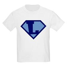 Super Hero Letter L T-Shirt