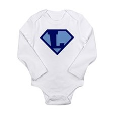 Super Hero Letter L Body Suit