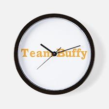 teambuffy.psd Wall Clock