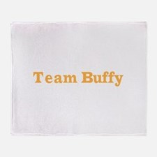 teambuffy.psd Throw Blanket