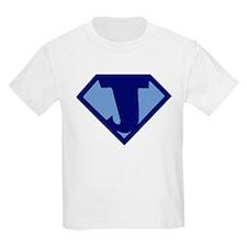 Super Hero Letter J T-Shirt
