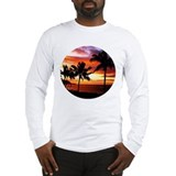 Hawaii sunset Long Sleeve T-shirts