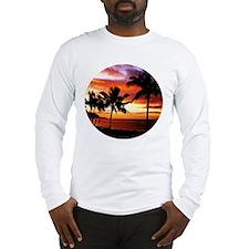 Unique Island scene Long Sleeve T-Shirt