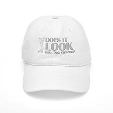 STEROIDS IN GOLF Baseball Cap