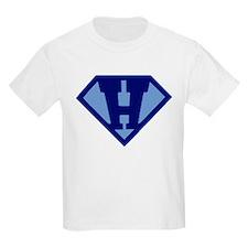 Super Hero Letter H T-Shirt