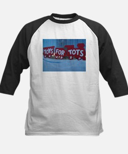 Toys For Tots Train. Baseball Jersey